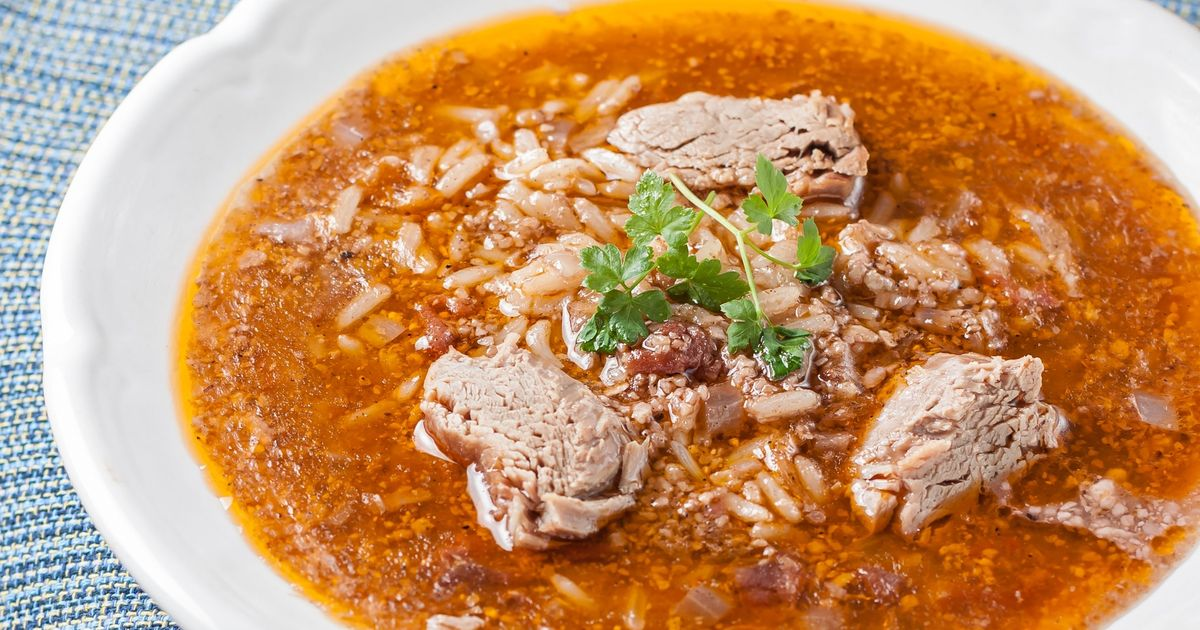 Фото Суп харчо из говядины
