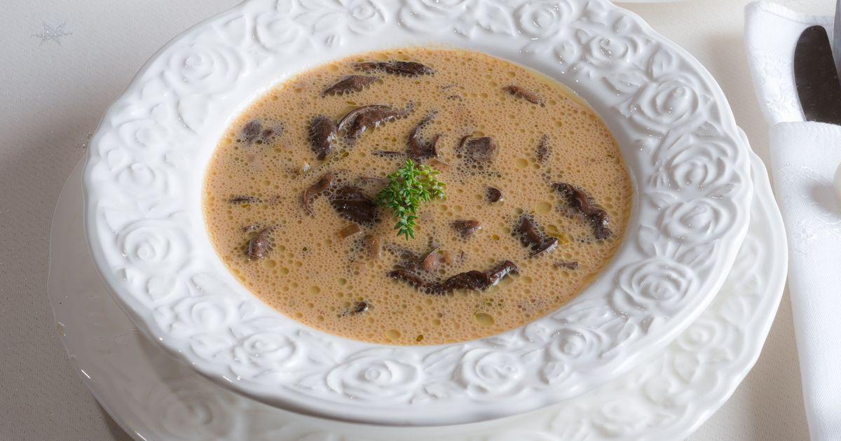 Фото Грибной суп по-венгерски