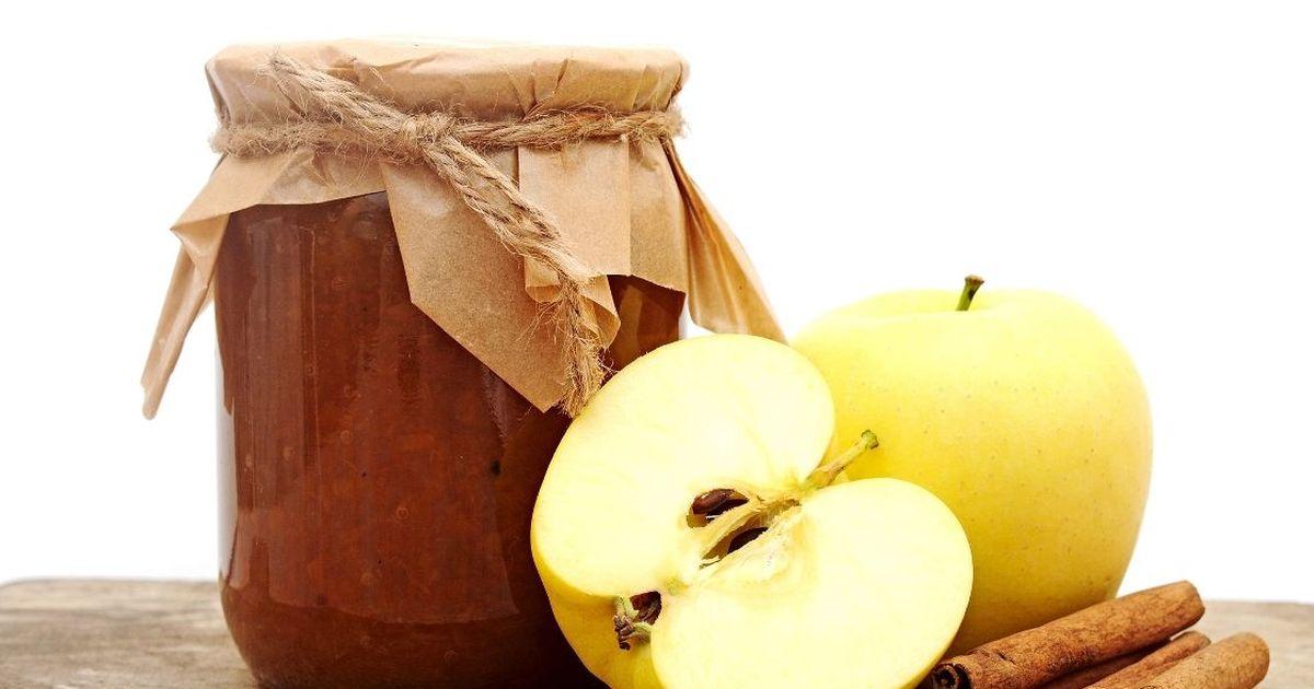 Фото Домашнее яблочное повидло