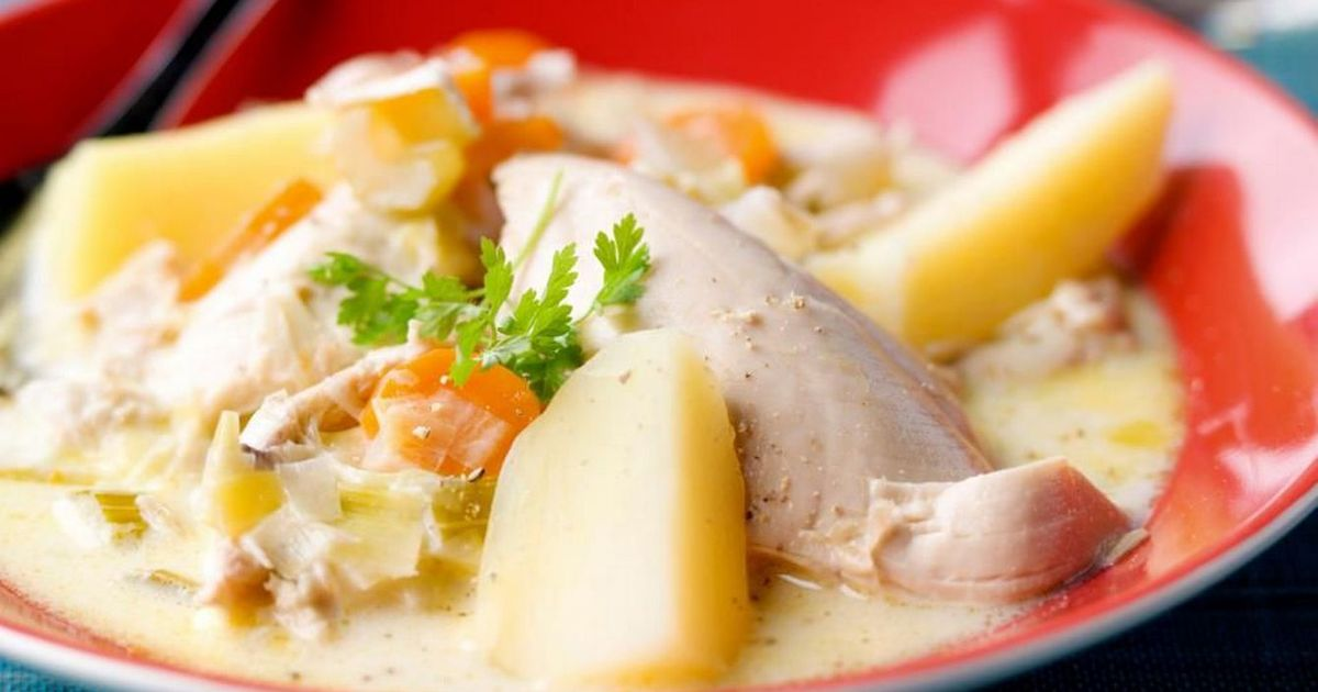 Фото Бельгийский суп Ватерзой