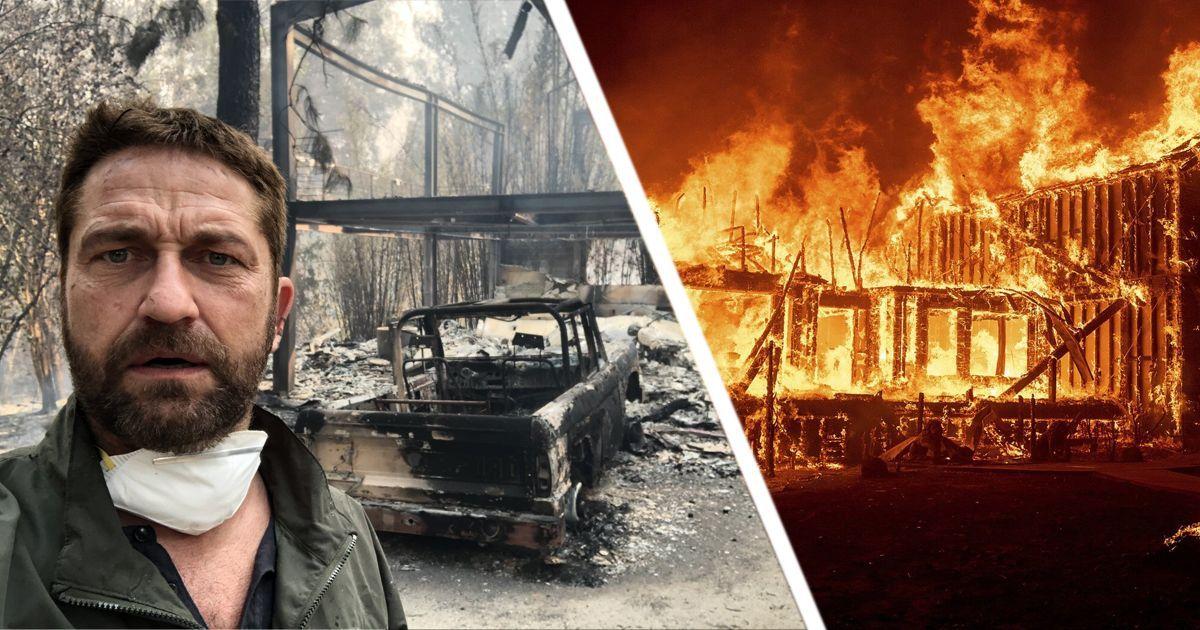Фото Какие знаменитости столкнулись с пожаром Калифорнии и потеряли дома?