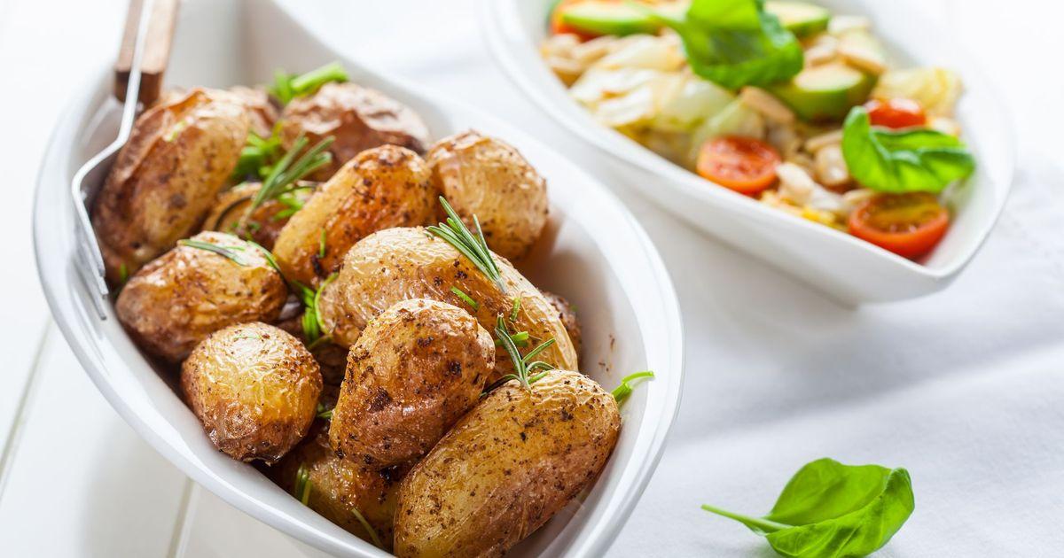 Фото Запеченный картофель по-деревенски