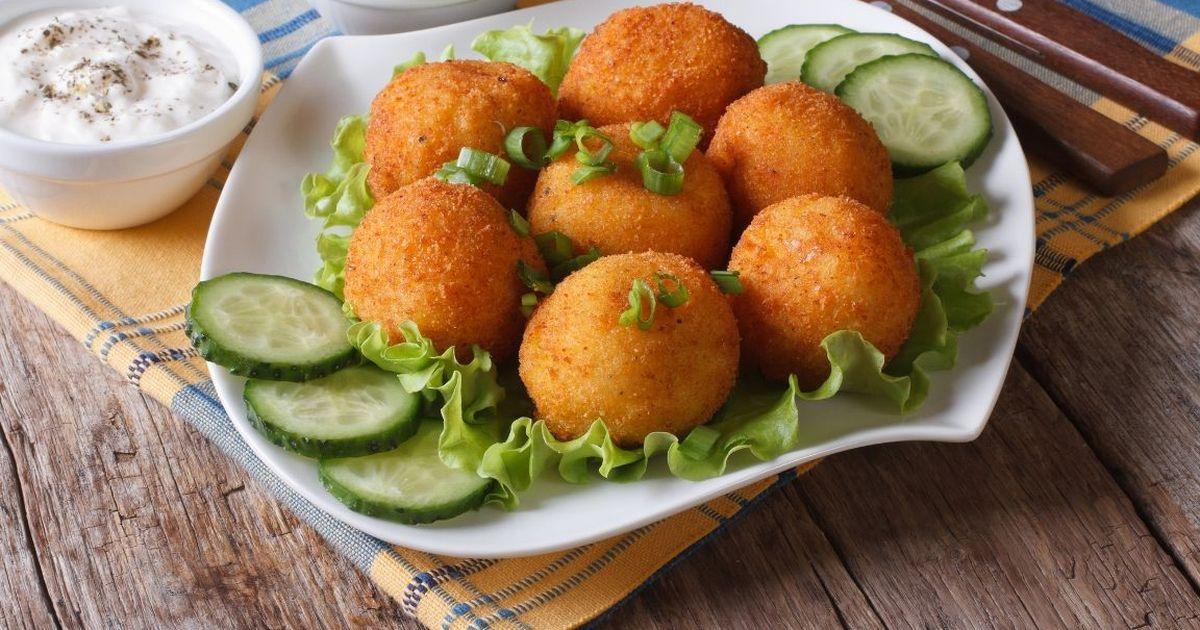 Фото Аппетитные картофельные крокеты