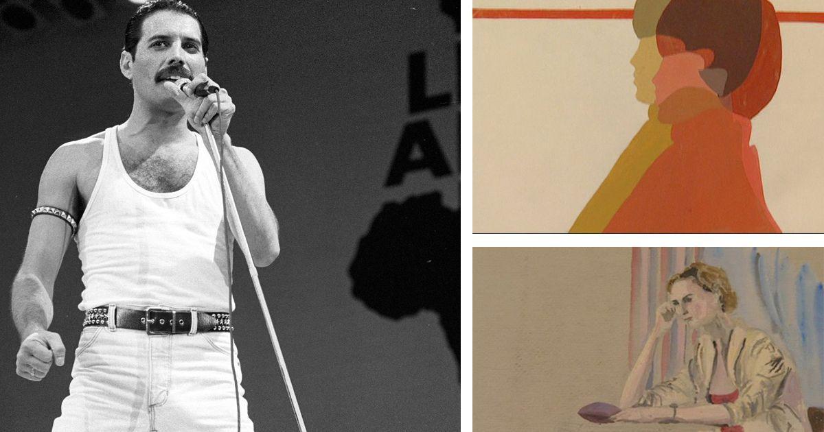 Фото Фредди Меркьюри: как рисовал великий певец?