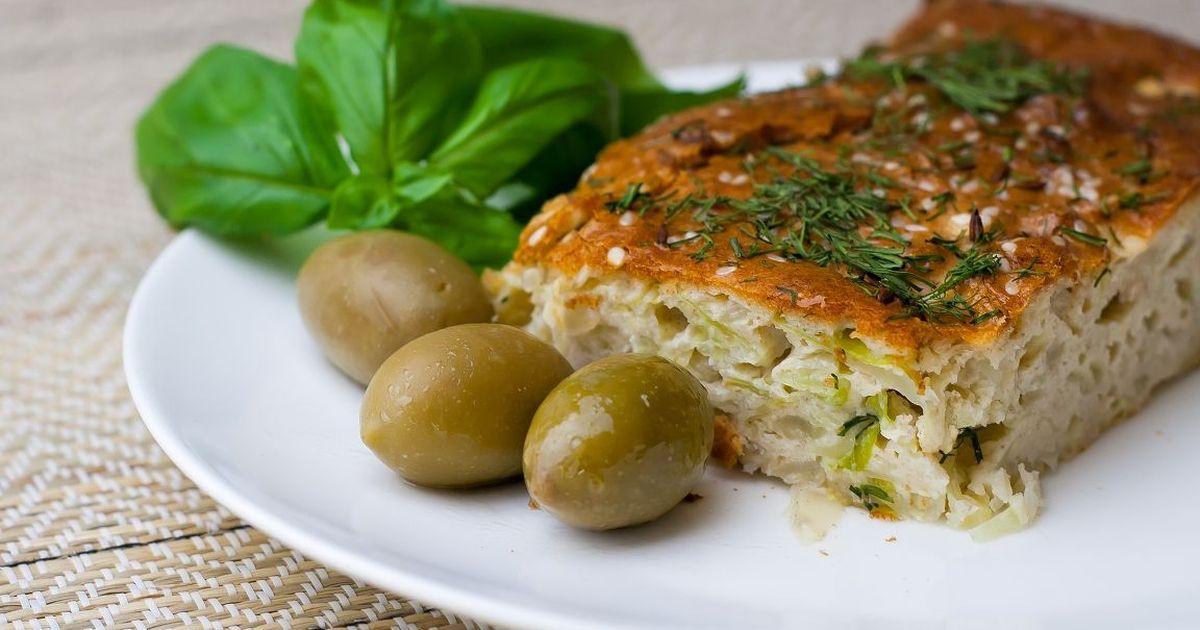 Фото Вкусный и простой пирог с капустой