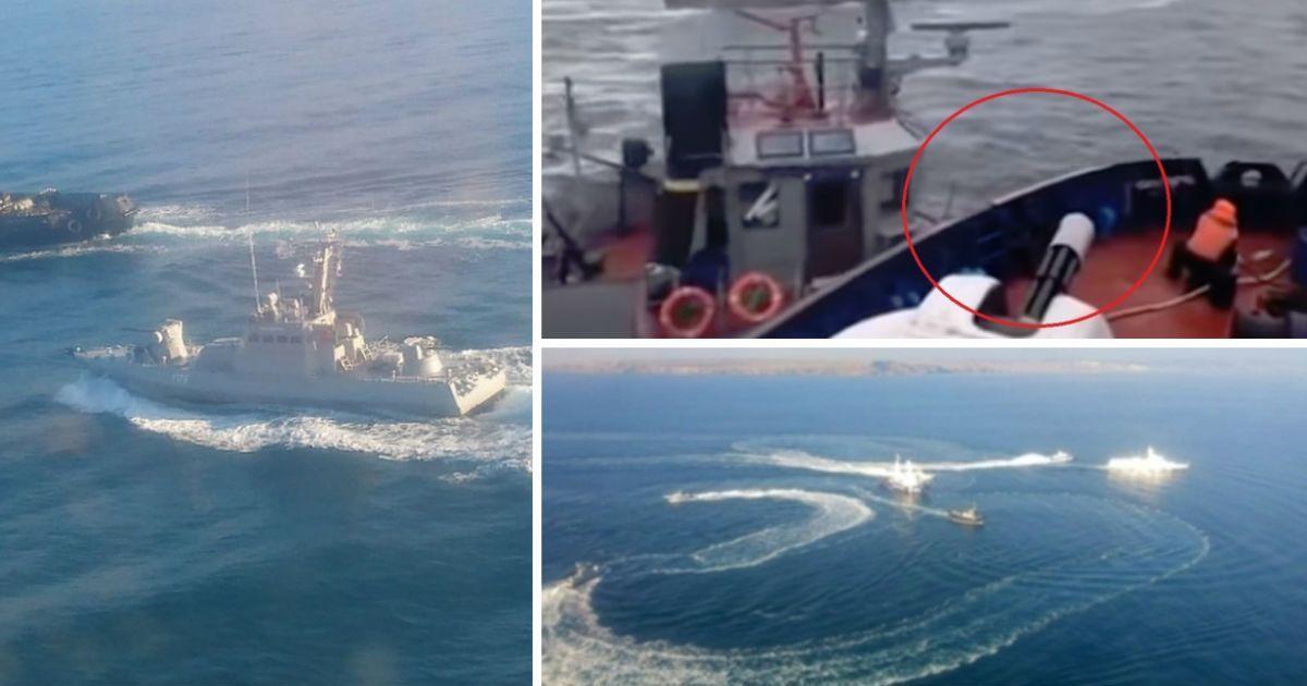"""Фото """"Морской бой"""" России с Украиной. Что произошло в Керченском проливе?"""