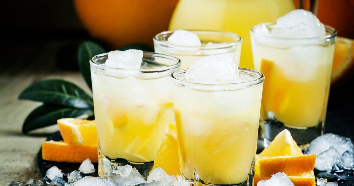Фото Оранчелло из апельсинов – напиток на Новый год!