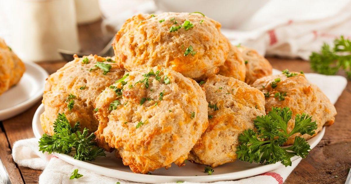 Фото Домашнее сырное печенье