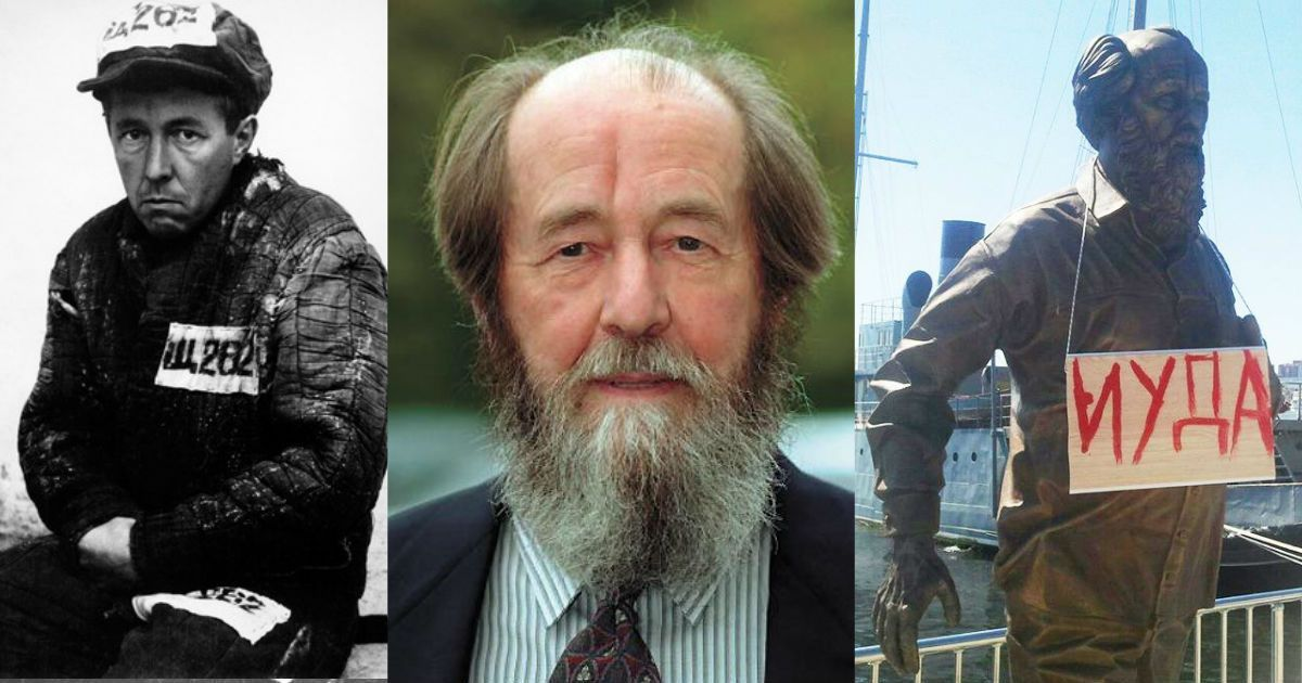Фото Солженицыну 100 лет. Кто он: герой, пророк или предатель?