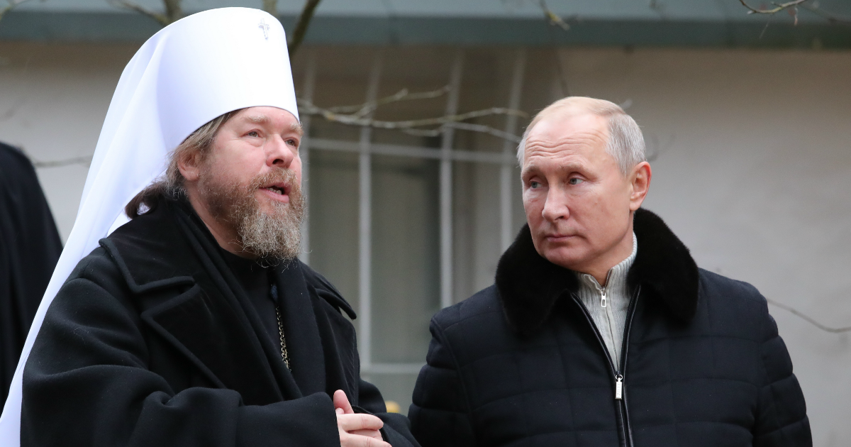 Фото Фаворит Путина и будущий патриарх? Кто такой митрополит Тихон (Шевкунов)