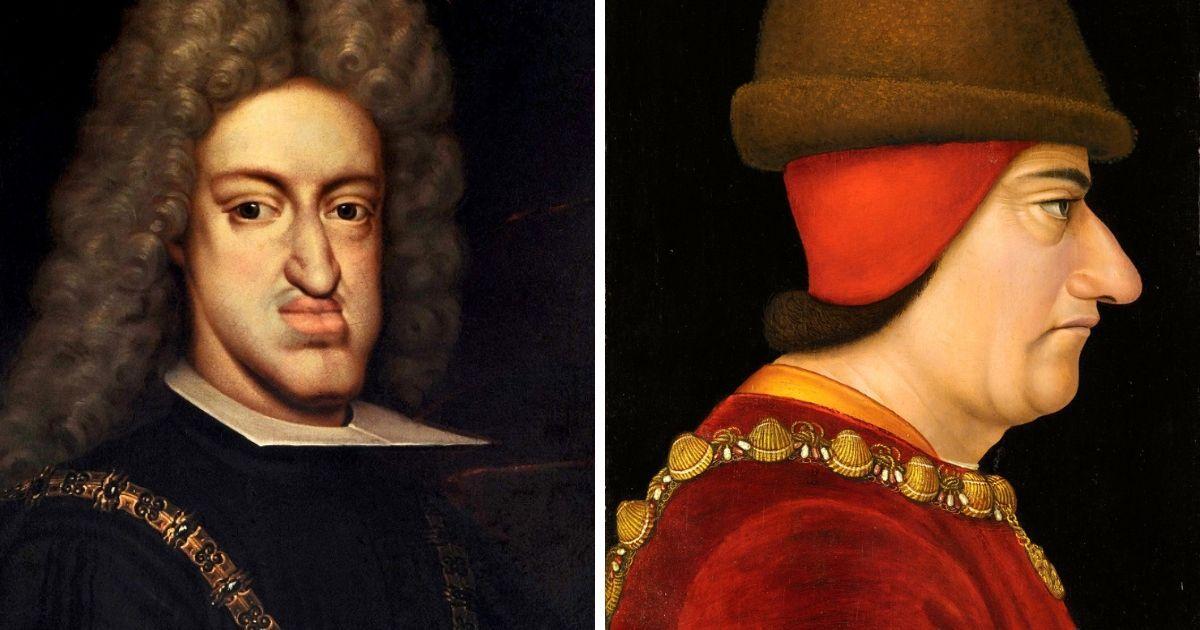 Фото Большой нос и нависающий лоб: самые уродливные монархи в истории