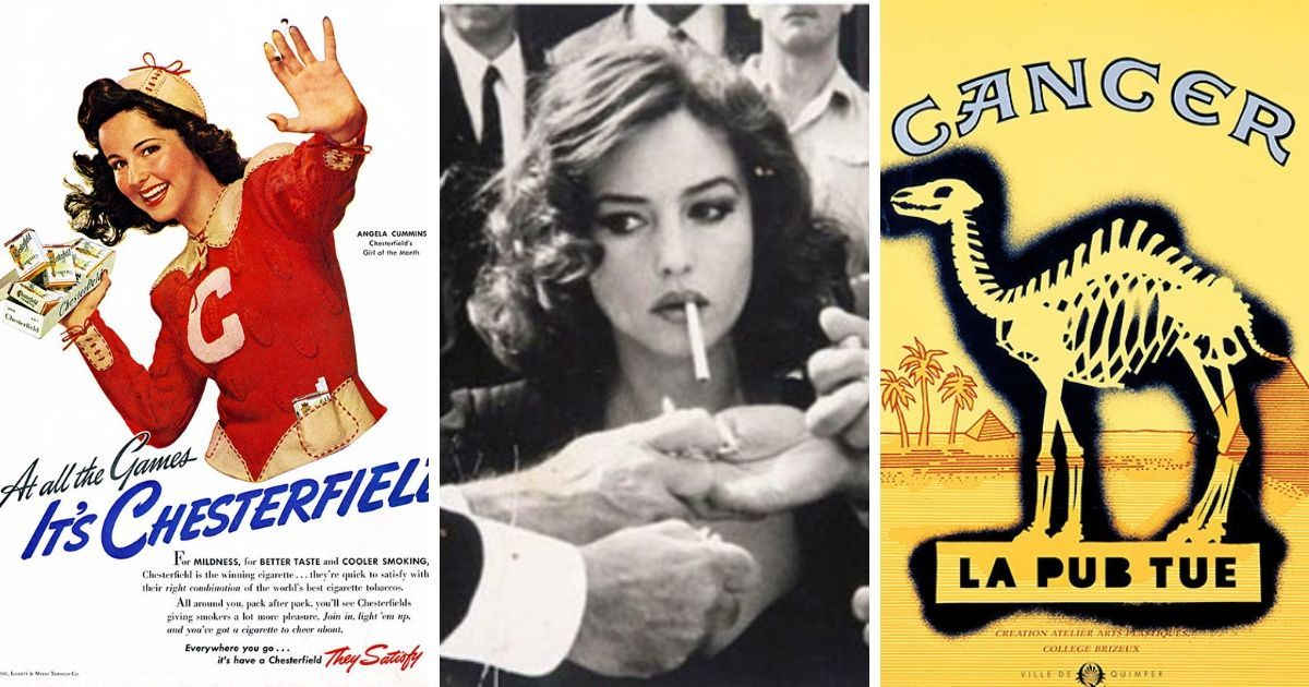 Фото Пачка сигарет: как менялось отношение к курению в 20 веке