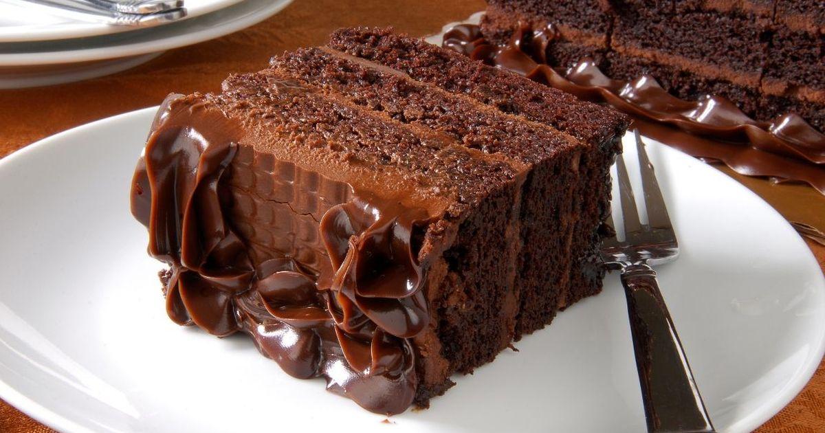 Фото Домашний шоколадный торт