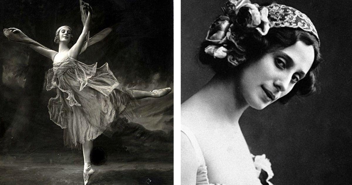 Фото Скандальная жизнь и карьера русской балерины Анны Павловой