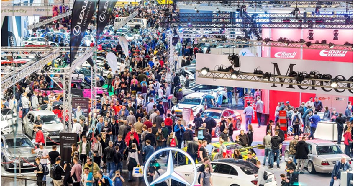 Фото Выставка автомобилей и тюнинга в Эссене: новинки, ретро и многое другое