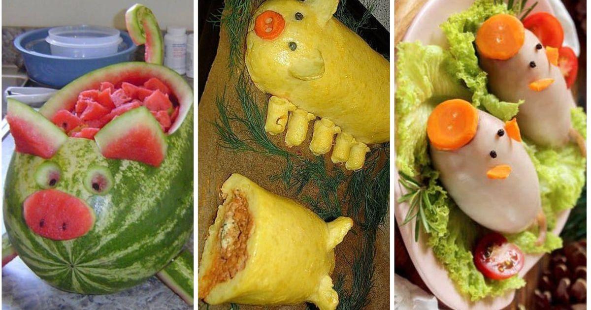 Фото Зверское хрючево! Жуткие новогодние блюда от хозяек-свинолюбов