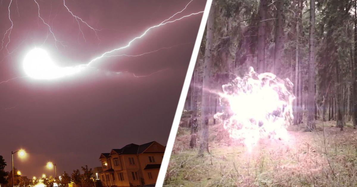 Фото Неизученные явления: как появляются шаровые молнии?