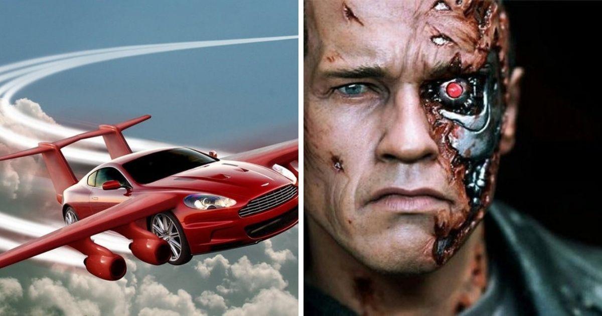 Фото Летающие автомобили и вечная молодость: как в кино прошлого представляли 2019 год