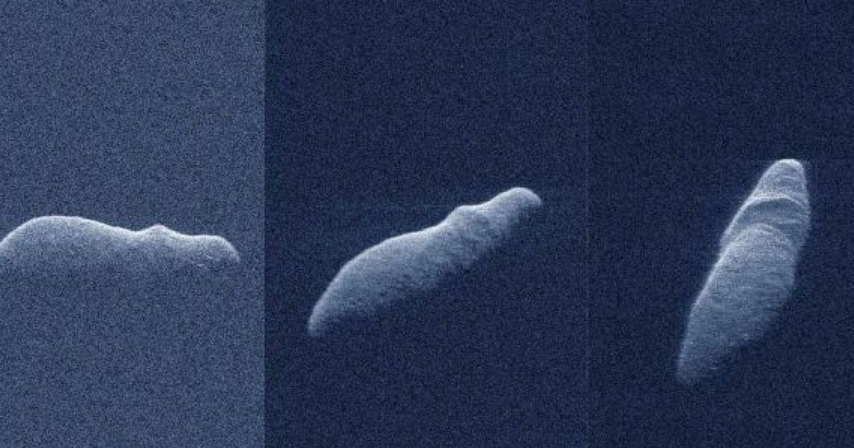 """Фото НАСА: мимо Земли пролетел """"потенциально опасный"""" астероид-""""гиппопотам"""""""