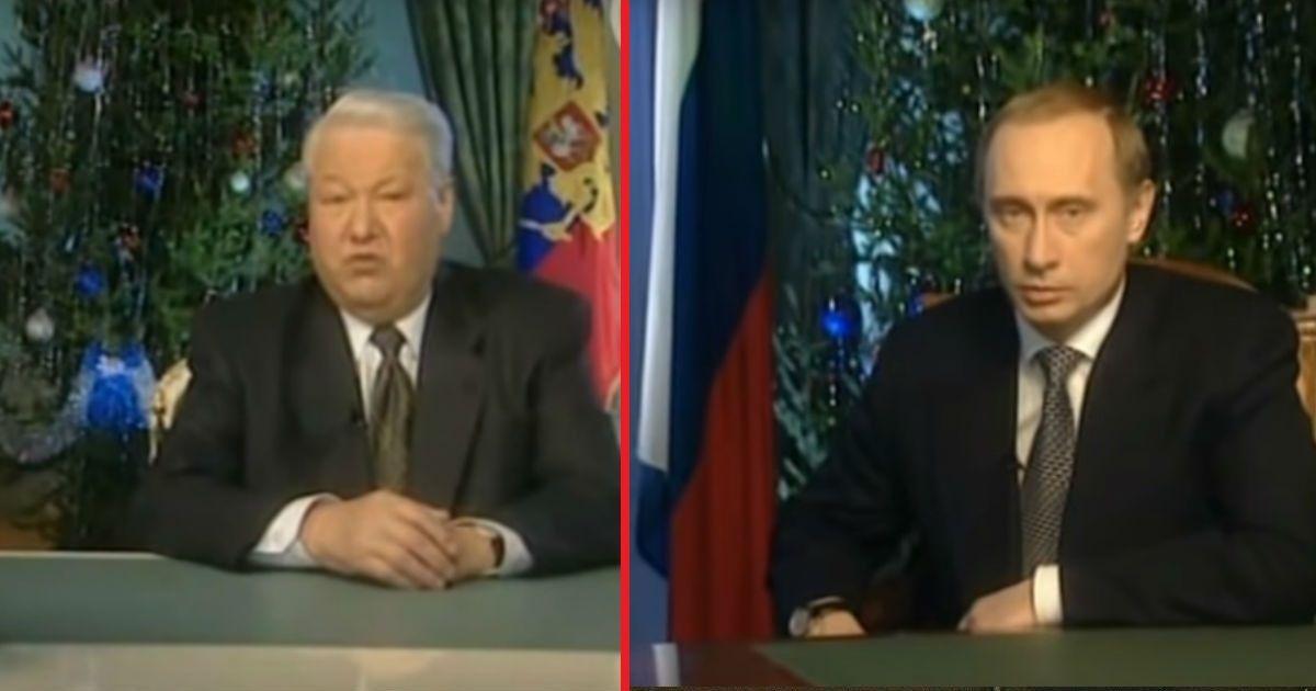"""Фото """"Я устал, я ухожу"""": 19 лет назад Ельцин передал власть Путину"""
