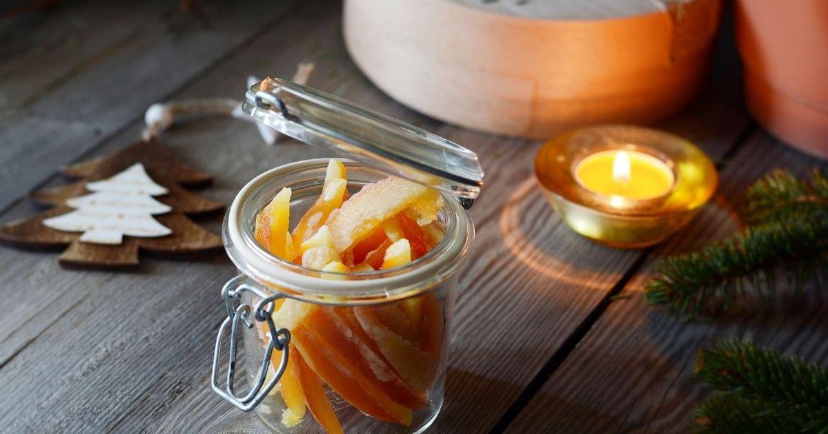 Фото Вкуснейшие апельсиновые цукаты