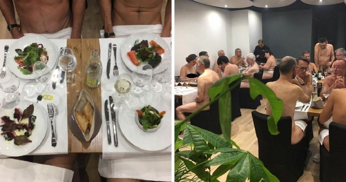 """Фото """"Мало голых"""": первый в мире ресторан для нудистов закрылся"""