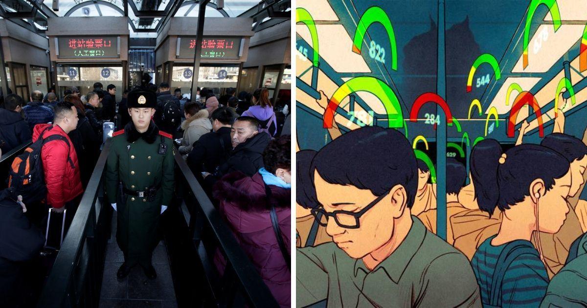 """Фото """"Нет"""" самолетам и благам: как работает система социальных рейтингов в Китае"""