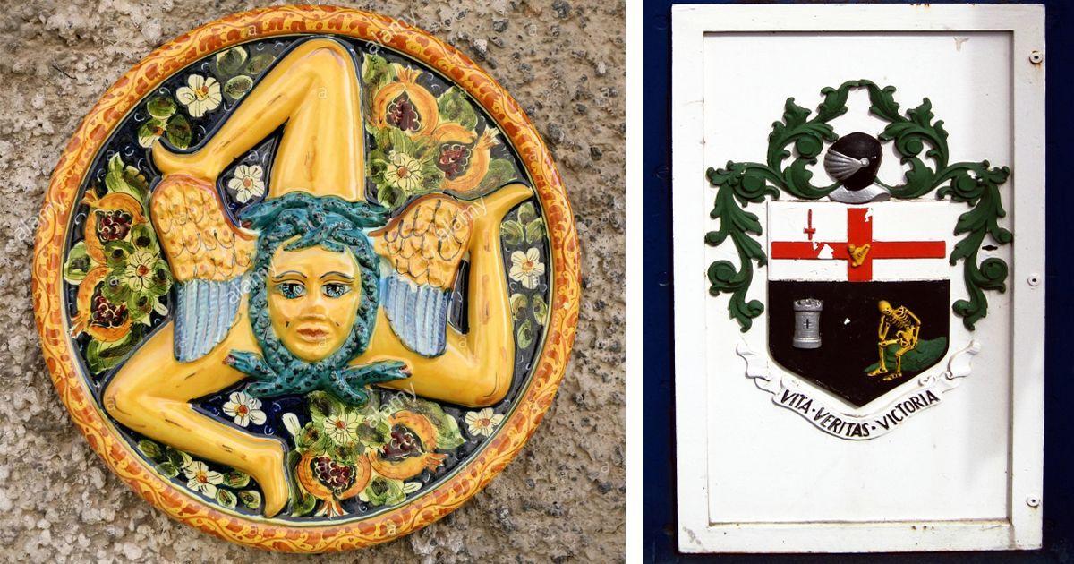 Фото Странные гербы со всего мира, которые таят в себе глубокий смысл