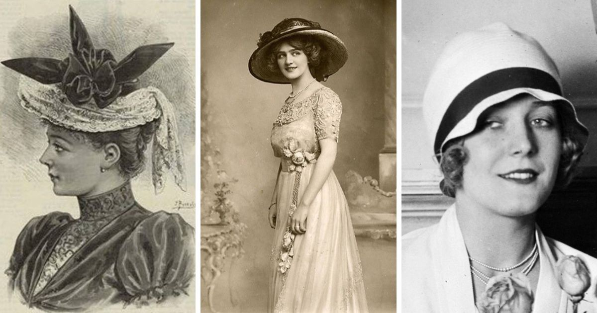 """Фото """"Где шляпа?"""": краткая история женских головных уборов"""