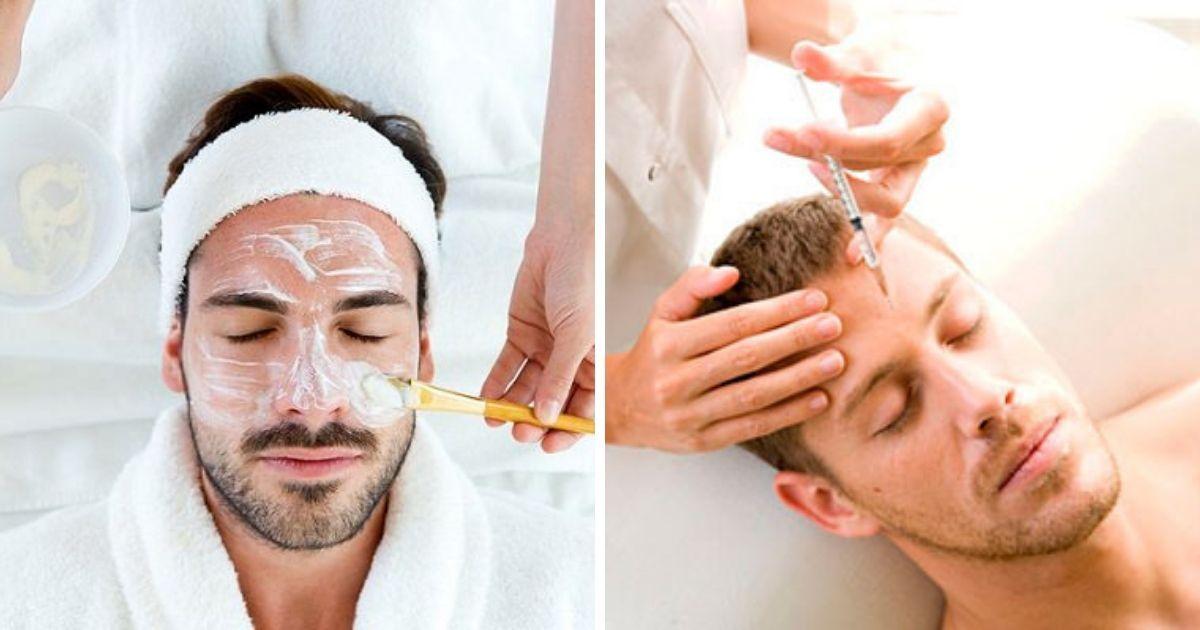 Фото Всех милее: какие косметические процедуры не позорно делать мужчинам?