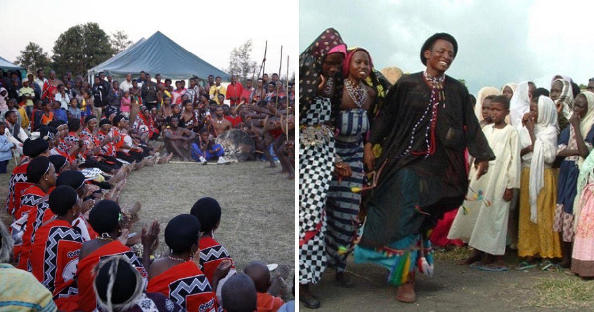 Фото Сестра под кроватью и тетя в постели: свадебные обряды развивающихся стран