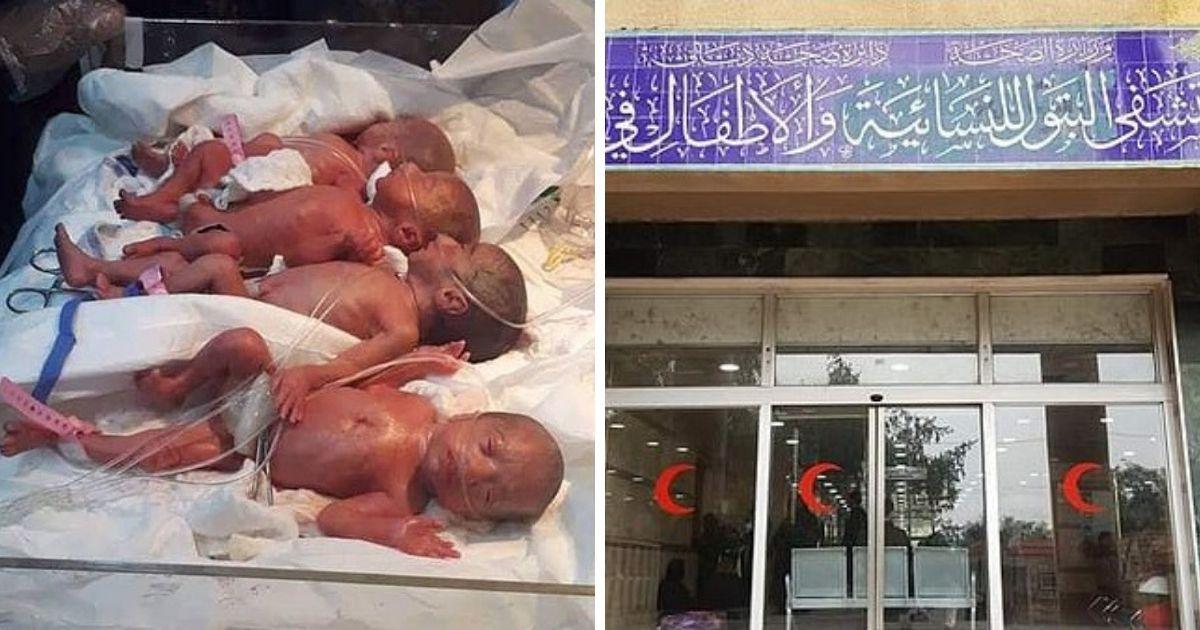 Фото Шесть дочек и сын: в Ираке женщина родила семерых детей