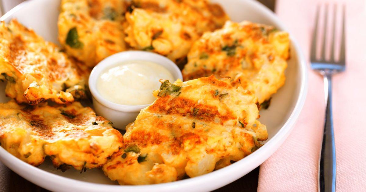Фото Рубленые котлеты с сыром и зеленью