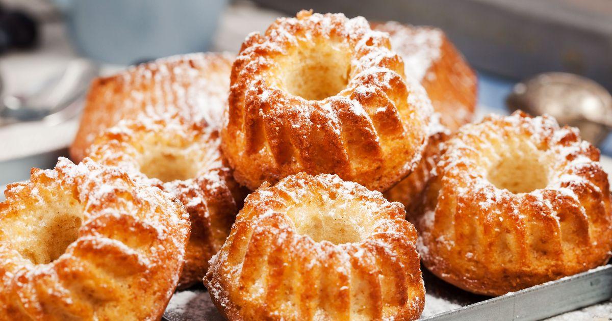 Фото Нежные творожные кексы