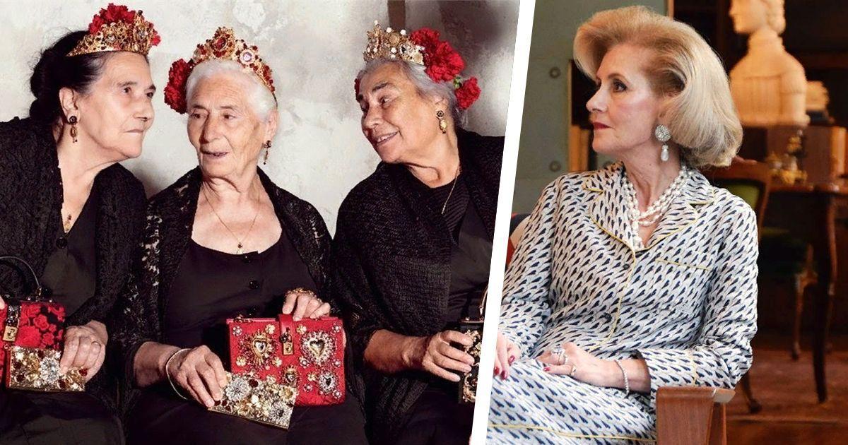 Фото Как пожилые итальянские красавицы покорили сердца всего мира