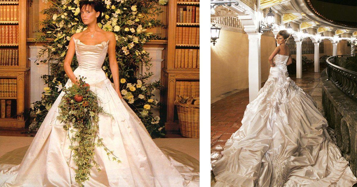 Фото Высший уровень! Самые дорогие свадебные платья в истории
