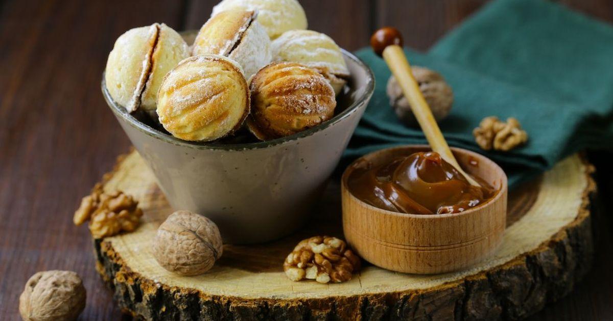 """Фото Рецепт приготовления печенья """"Орешки"""""""