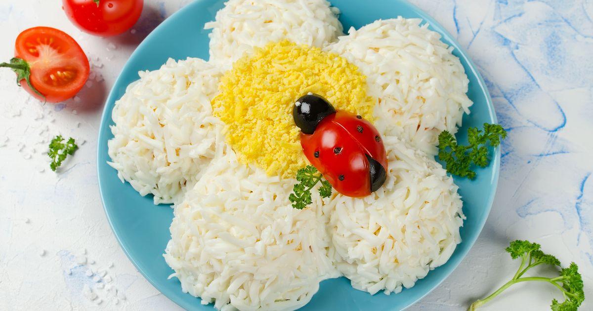 """Фото Праздничный салат """"Весенний"""""""
