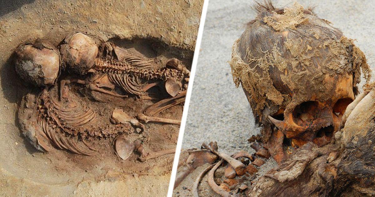 Фото В Перу найдено крупнейшее захоронение принесенных в жертву детей