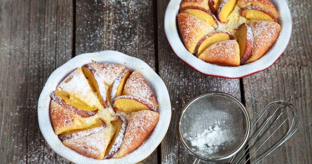 Фото Рецепт приготовления творожного суфле с яблоком