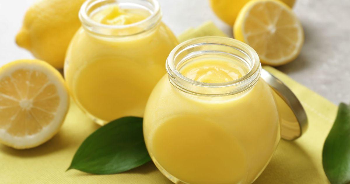 Фото Классический лимонный курд