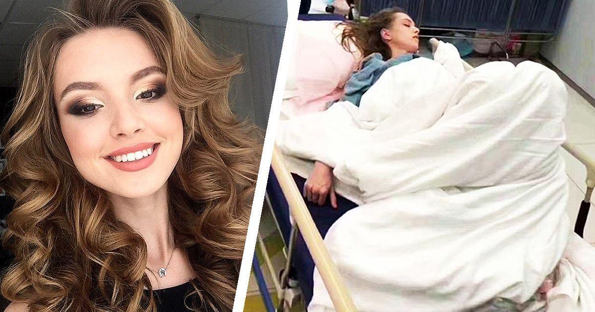 Фото Смертельный показ: русская модель чуть не умерла от менингита в Китае
