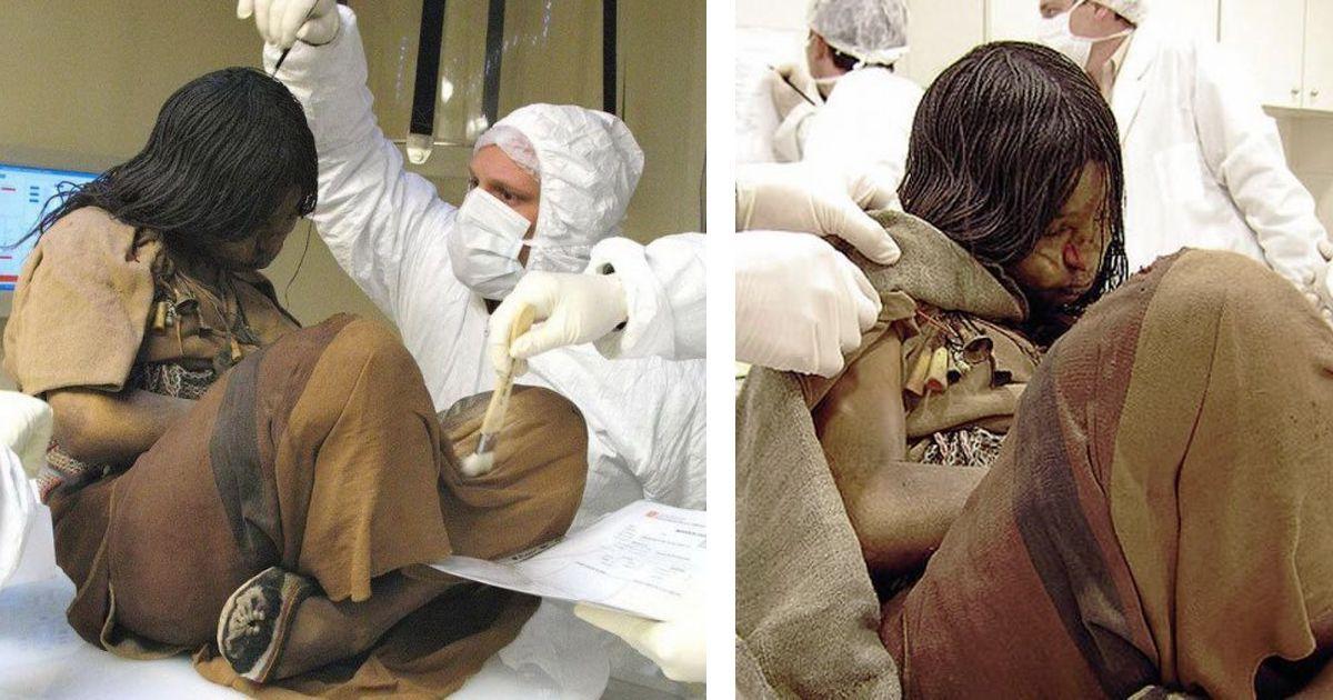 Фото Археологи нашли девочку племени инков, принесенную в жертву 500 лет назад