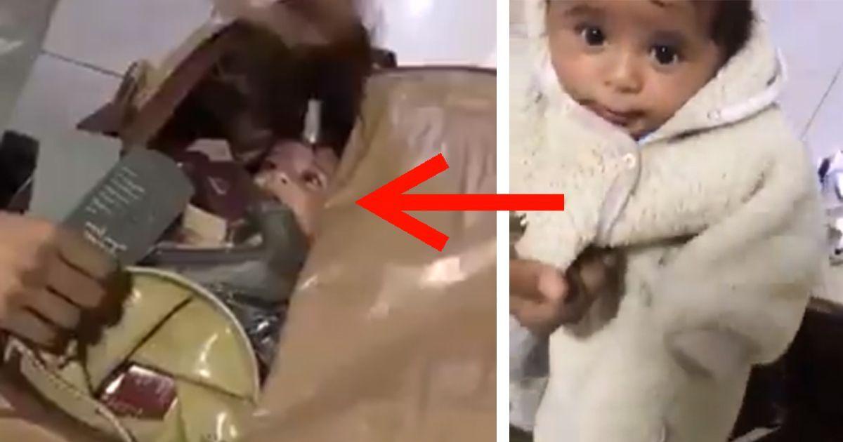 Фото В аэропорту Дубая в багаже обнаружили похищенного младенца