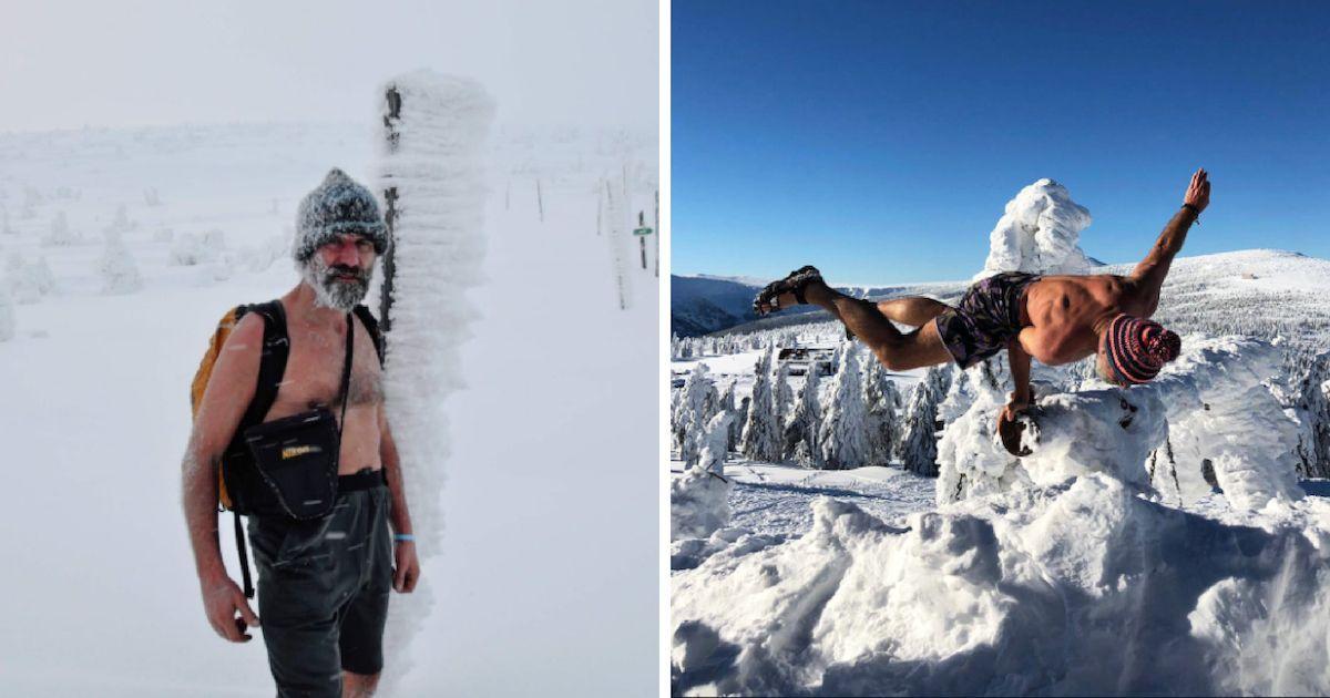 """Фото Вим Хоф: """"ледяной человек"""", который не боится холода"""