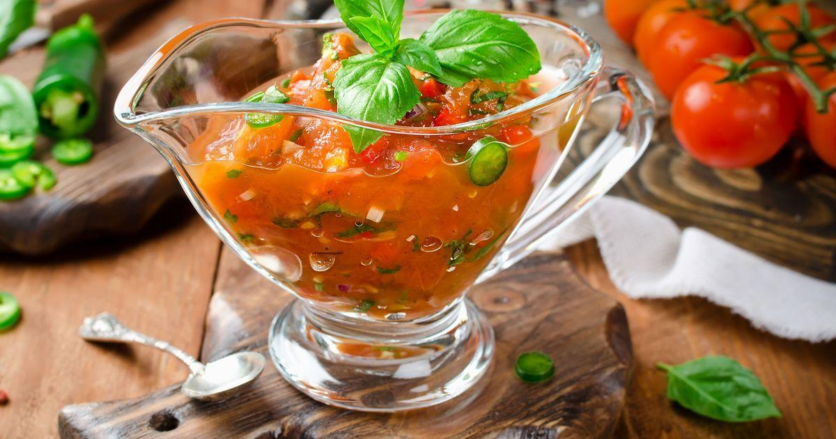 Фото Вкусный соус к шашлыку