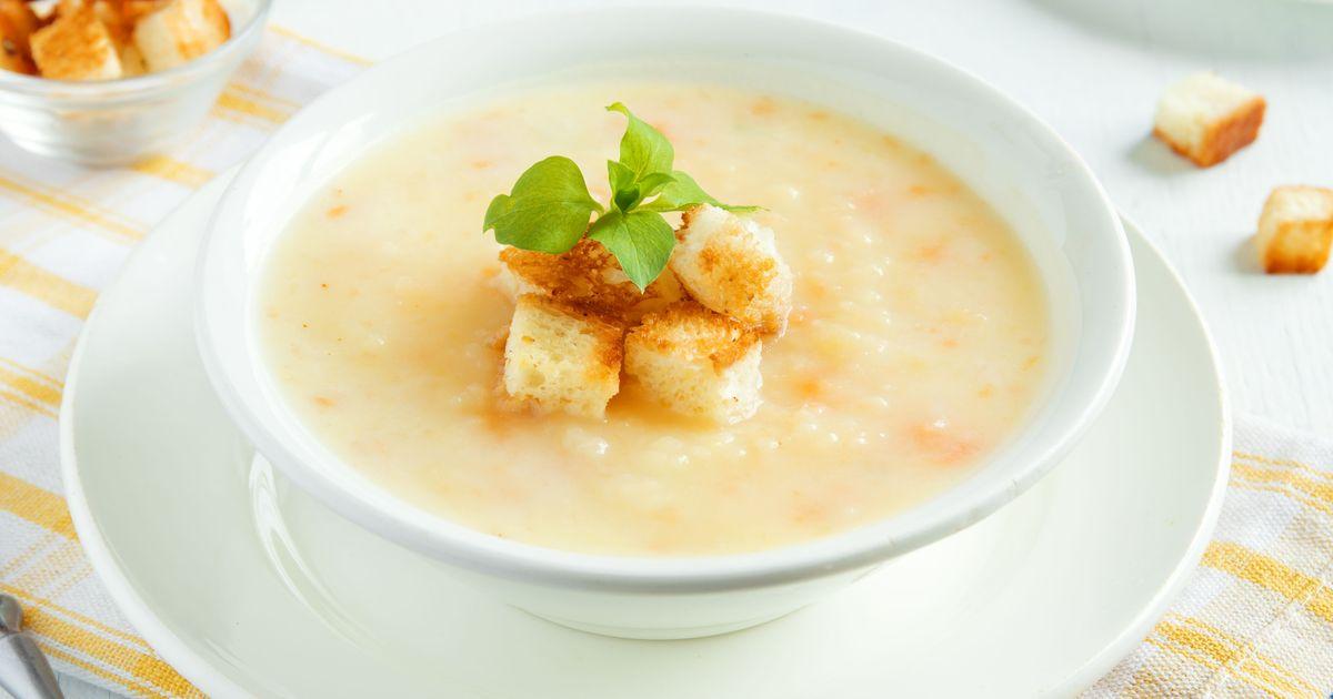 Фото Сырный суп-пюре с курицей