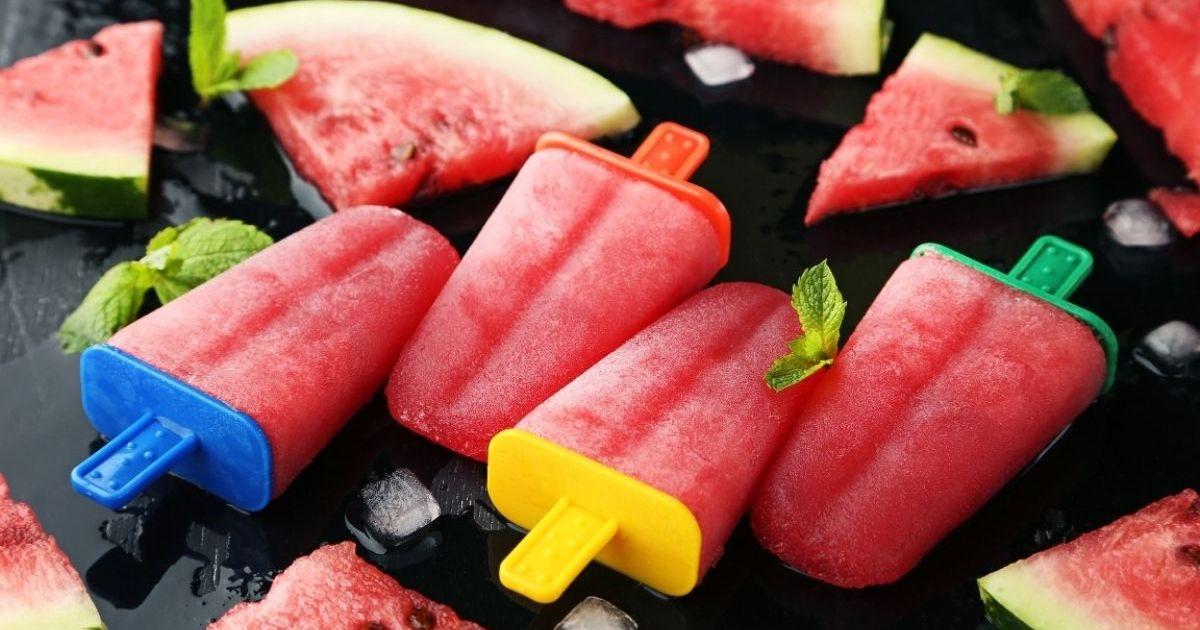 Фото Арбузный фруктовый лёд