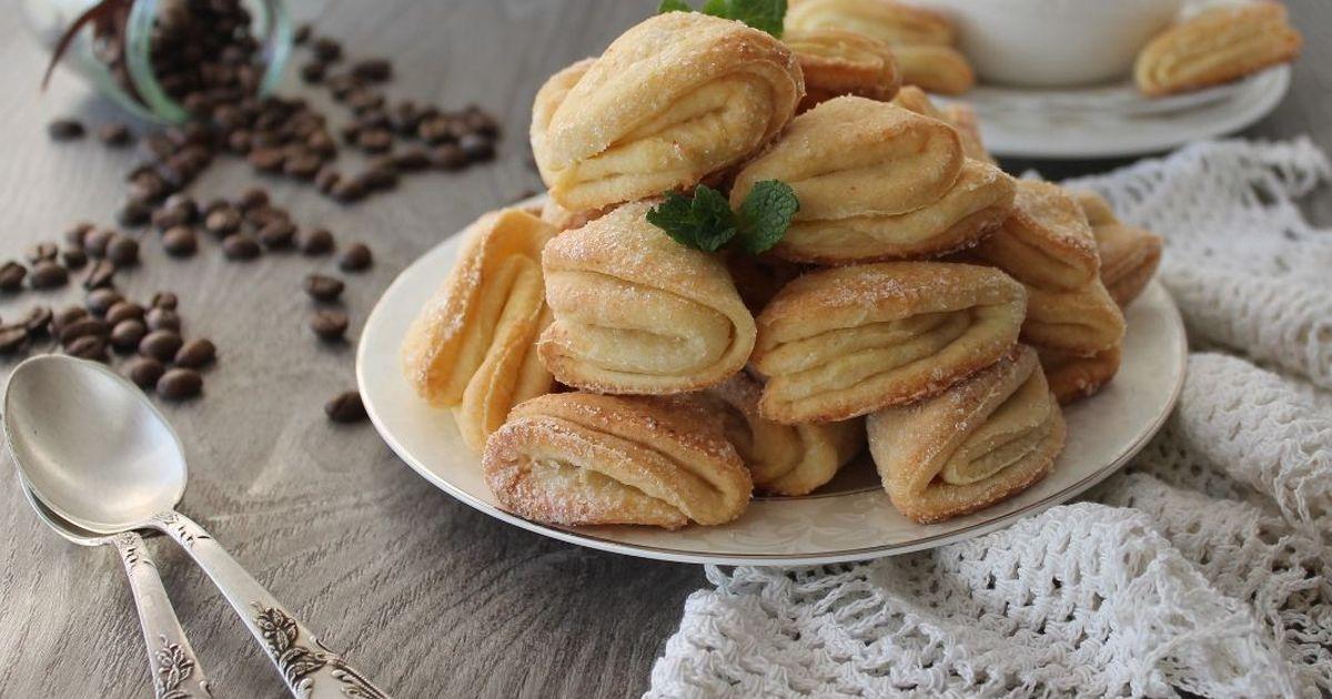 Фото Домашнее творожное печенье к чаю