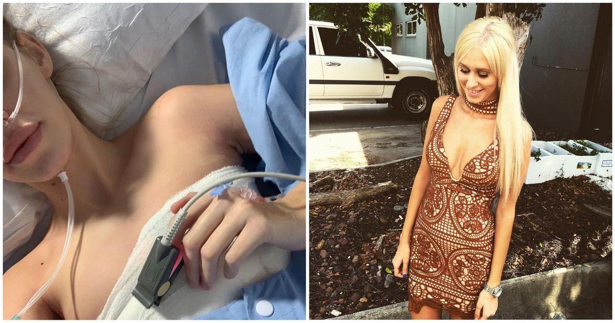 """Фото """"Становилось хуже"""". Девушка чуть не лишилась жизни из-за грудных имплантов"""